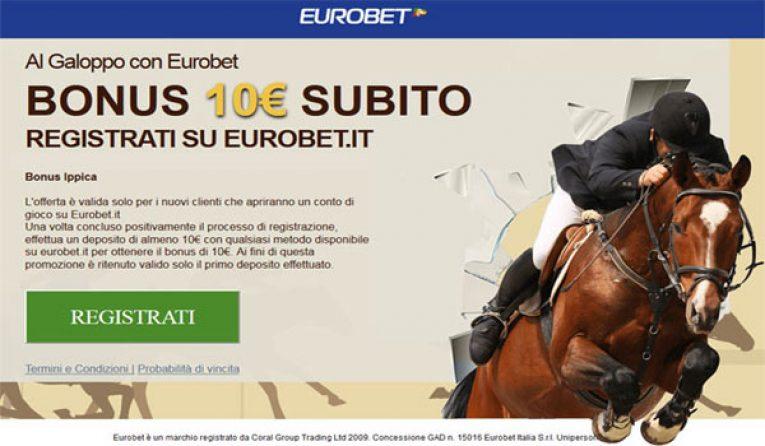 Eurobet scommesse ippica