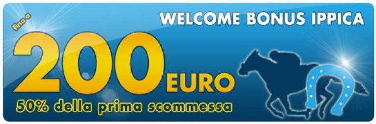 betflag welcome bonus ippica 200 euro